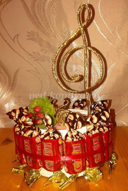 Подарок для музыкального руководителя своими руками 79