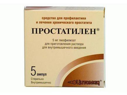 Gyertyák Prostatilén Prostatitis Vélemények)