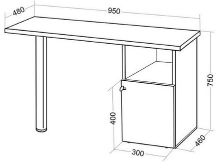 Маникюрный стол своими руками чертежи фото 96