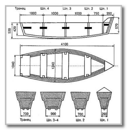Лодка плоскодонка своими руками чертежи 51