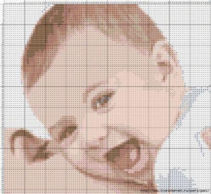Схемы вышивка крестом с детьми 911