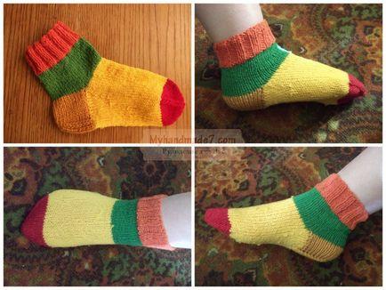 Вязание носков для начинающих Вязание спицами, крючком