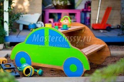 Машинки для детей на даче своими руками фото 31