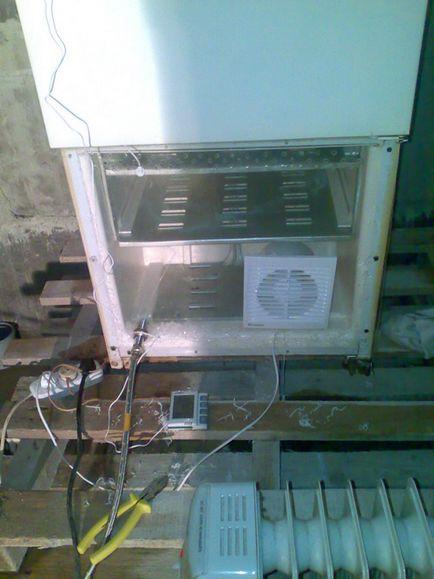 Как сделать холодильную камеру своими руками из холодильника 37