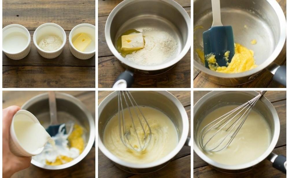 Как приготовить соус бешамель в домашних условиях пошаговый рецепт