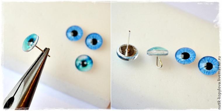Глазки игрушкам своими руками