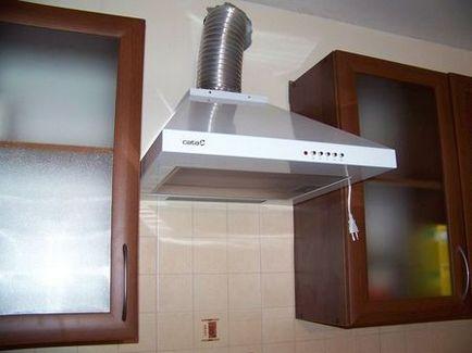 Как можно сделать вытяжку на кухне 141