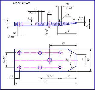 Точилка электрическая для ножей чертежи 104
