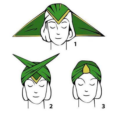 Полотенце для головы шьём своими руками 96