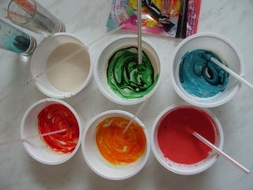 Как развести краску в домашних условиях 155