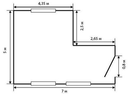 пожалуйста, почему как посчитать метры квадратные подавать
