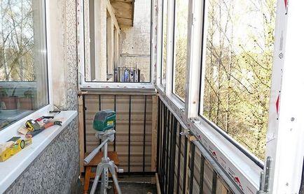 Установка балкона своими руками 314