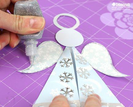 Ангел рождественский своими руками из бумаги 18