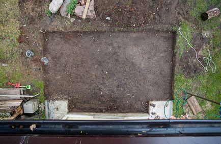 Beton ganek do domu, technologia produkcji z własnych rąk, wskazówki jak zrobić deskowanie