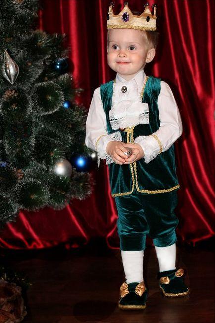 Новогодние костюм принца для мальчиков своими руками принц