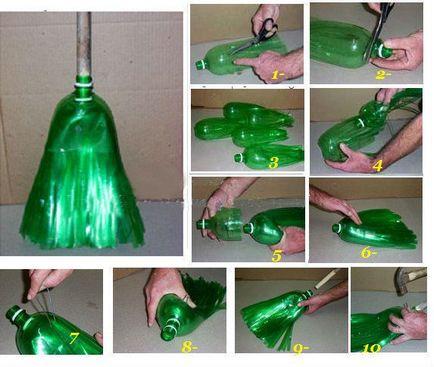 Поделки своими руками из пластиковых бутылок средств в домашних условиях 94