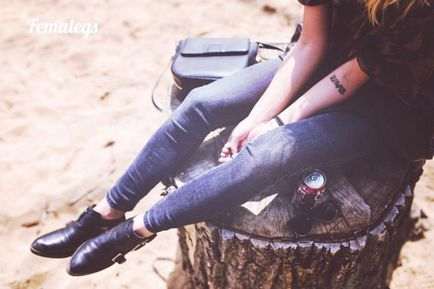 un picior este mai gros decât varicoza)