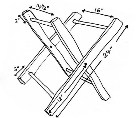 Раскладной стол своими руками чертежи с размерами 81