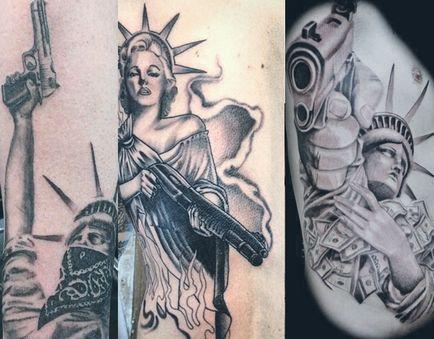 Tatuaż Statua Wolności Wybierz Styl I Podziwiać Zdjęcia