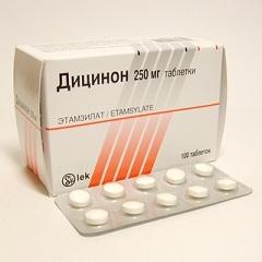 dicinone használata a szemészetben