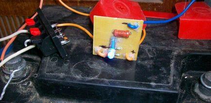 Katodowej (elektrochemiczny) ochrona przed korozją nadwozia
