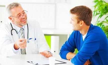 Prostatitis Bioptron kezelés