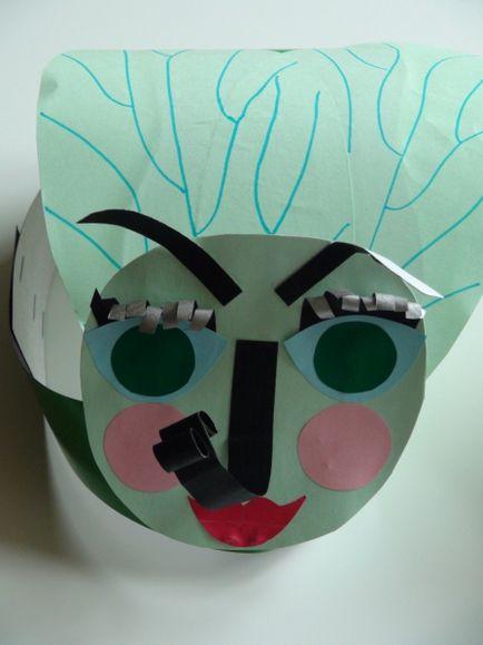 latać maskę wykonaną z papieru własnymi rękami - dom - sortowanie Internecie