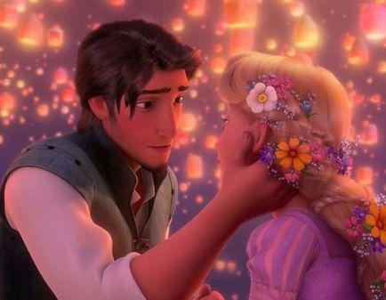 """wiano w stylu """"Rapunzel"""" kreskówki"""