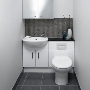 Mały Zlew Do Wc I łazienka Photo Umywalki