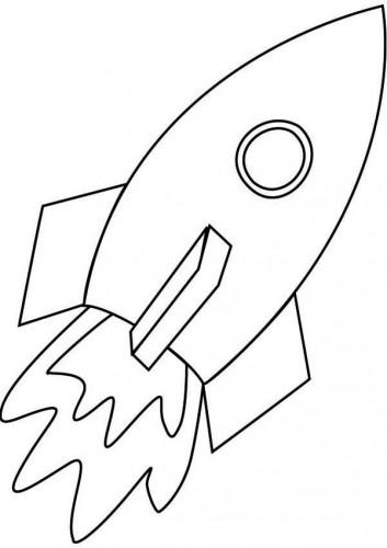 Imagini De Rachetă și Pagini De Colorat Pentru Copii