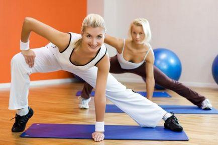 varicoză și clase în sala de gimnastică