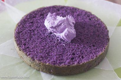 Ube Macapuno Cake Recipe Bake Happy