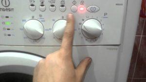 Как да рестартирате пералня Indesit