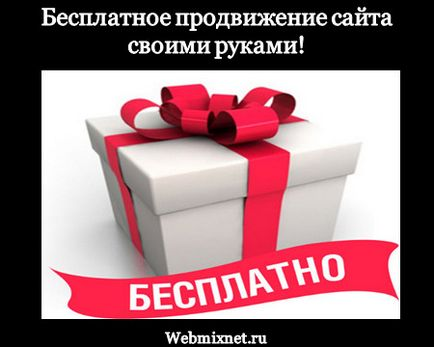 Как да популяризирате сайта си безплатно блог Максима Obuhova