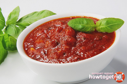 Как да си направим сос от доматено пюре