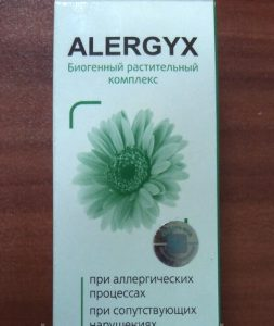 Alergyx - прегледи на средства за алергии в капки