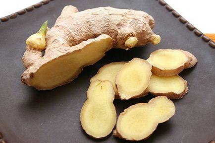 Джинджифил корен за загуба на тегло и как да използвате рецепта за бързо отслабване корен от джинджифил с лимон