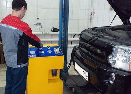 Честота на смяна на масло в превозно средство за автоматично предаване на съвета