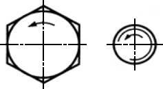 Marcarea elementelor de fixare (șuruburi, șuruburi, știfturi și piulițe), td