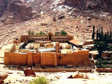 Манастирът Света Екатерина в Египет, Синай, снимки, видео