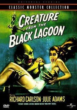 Crearea dintr-o lagună neagră (creatură dintr-o lagună neagră) - creatură din laguna neagră (1954) -