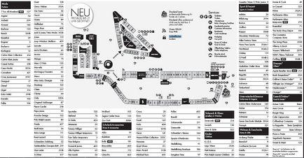 6a47eda014 Pandorf Maps Designer Outlet Parndorf Fenykepe