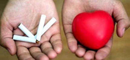 szív leszokott a dohányzásról)