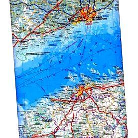 Földrajzi világtérkép - motiver.hu
