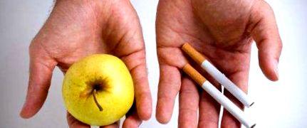 nyers étel diéta a dohányzásról való leszokáshoz