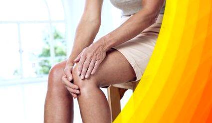 térdízületi fájdalom duzzadt láb