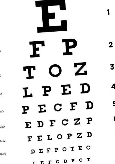 látásélesség szülés után hálós látásvizsgálat