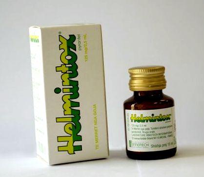 helmintox alkohols