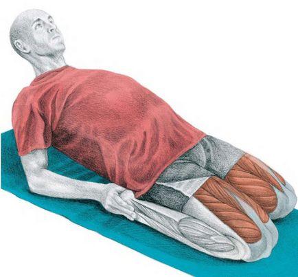 20 exerciții de stretching pentru picioare