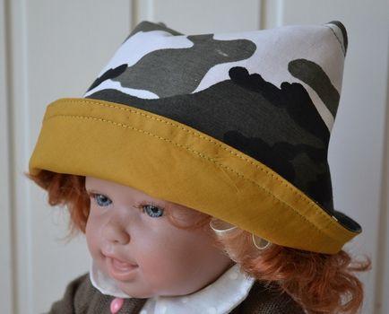 pălării pentru copii, model și de cusut de vara pentru copii panama